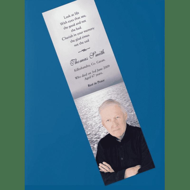 Memorial Cards Cavan   Offering top quality memorial stationery   bookmarks Cavan