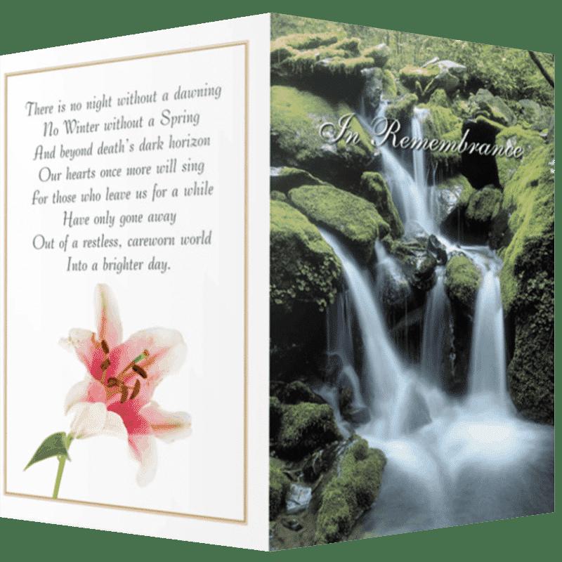 Memorial Cards Cavan   Offering top quality memorial stationery